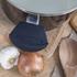 Tower T90922B Taper Ceramic Coated Casserole Dish - Black - 24cm: Image 5