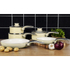 Swan SWPS3020CN 3 Piece Retro Aluminium Saucepan Set - Cream: Image 3