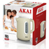 Akai A10001C Jug Kettle - Cream - 1.7L: Image 2
