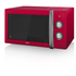 Swan SM22070RN Manual Microwave - Red - 900W: Image 1