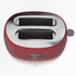 Akai A20001R 2 Slice Cool Touch Toaster - Red: Image 2
