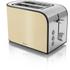 Swan ST17020CREN 2 Slice Toaster - Cream: Image 1