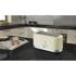 Swan ST10090CREN 4 Slice LongSlot Toaster - Cream: Image 2