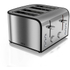 Akai A20002 4 Slice Toaster - Stainless Steel: Image 1