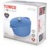 Tower IDT90001 Cast Iron Round Casserole Dish - Blue - 26cm: Image 5
