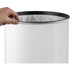 Morphy Richards 974144 Round Sensor Bin - White - 50L: Image 3