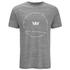 Supra Men's Sphere Print T-Shirt - Grey Heather: Image 1