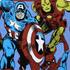 Marvel Attack Herren T-Shirt - Blau: Image 3