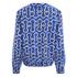 KENZO Women's Printed Bomber Jacket - Blue: Image 2