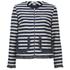 Sonia by Sonia Rykiel Women's Tweed Striped Jacket - Navy/Ecru: Image 1