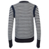 Sonia by Sonia Rykiel Women's Bicolor Striped Cardigan - Navy/White: Image 2