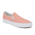 Vans Women's Classic Slip-on Chambray Trainers - Coral/True White: Image 4