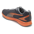 Puma Men's Ignite Mesh Running Trainers - Grey/Orange: Image 5