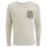 Jack & Jones Men's Originals Boom Pocket Sweatshirt - White: Image 1