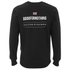 Good For Nothing Men's Gatekeeper Crew Neck Sweatshirt - Black: Image 2