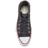 Converse Women's Chuck Taylor All Star Crochet Hi-Top Trainers - Almost Black/White: Image 3