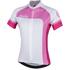 Nalini Women's Campionessa Short Sleeve Jersey - White/Pink: Image 1