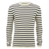 Selected Homme Men's Call Crew Neck Jumper - Papyrus/Dark Sapphire: Image 1