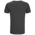 Dissident Men's Arrow Crane Graphic Print T-Shirt - Raven Grey: Image 2