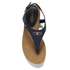 Lauren Ralph Lauren Women's Kally Leather Sandals - Modern Navy: Image 3
