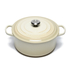 Le Creuset Signature Cast Iron Round Casserole Dish - 28cm - Almond: Image 1