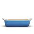 Le Creuset Stoneware Medium Heritage Rectangular Roasting Dish - Marseille Blue: Image 2