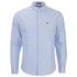 Brave Soul Men's Pompeii Long Sleeve Shirt - Light Blue: Image 1