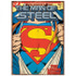 DC Comics Superman Super Suit Large Tin Sign: Image 1