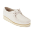 Clarks Originals Women's Wallabee Shoes - Off White: Image 4