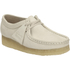 Clarks Originals Women's Wallabee Shoes - Off White: Image 2