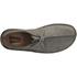 Clarks Originals Men's Desert Trek Leather Boots - Blue/Grey: Image 3