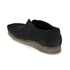 Clarks Originals Men's Wallabee Shoes - Black Suede: Image 6