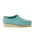 Clarks Originals Women's Wallabee Shoes - Light Blue: Image 1