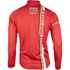 Lotto Soudal Long Sleeve Long Zip Jersey 2016 - Red/White: Image 3