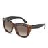 Valentino Women's Rockstud Square Frame Sunglasses - Dark Havana: Image 2
