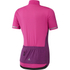 adidas Women's Climachill Short Sleeve Jersey - Shock Pink: Image 2