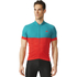 adidas Response Team Short Sleeve Jersey - Vivid Red/Green: Image 3