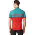 adidas Response Team Short Sleeve Jersey - Vivid Red/Green: Image 5