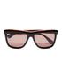 Calvin Klein Women's Platinum Sunglasses - Black Marble: Image 1