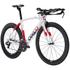 Ceepo Venom 105 Time Trial Bike - White/Red: Image 2