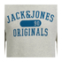 Jack & Jones Men's Seek Crew Neck Sweatshirt - Treated White: Image 3