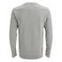 Jack & Jones Men's Seek Crew Neck Sweatshirt - Light Grey Marl: Image 2