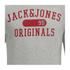 Jack & Jones Men's Seek Crew Neck Sweatshirt - Light Grey Marl: Image 3