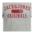 Jack & Jones Men's Seek T-Shirt - Light Grey Marl: Image 3