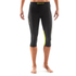 Skins DNAmic Women's Capri Tights - Black/Limoncello: Image 3