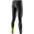 Skins DNAmic Women's Long Tights - Black/Limoncello: Image 2