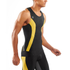 Skins DNAmic Men's Sleeveless Top - Black/Citron: Image 5