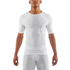 Skins DNAmic Men's Short Sleeve Top - White: Image 1