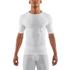 Skins DNAmic Men's Short Sleeve Top - White: Image 1