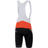 Sportful Tour Max Bib Shorts - Red/Black: Image 2